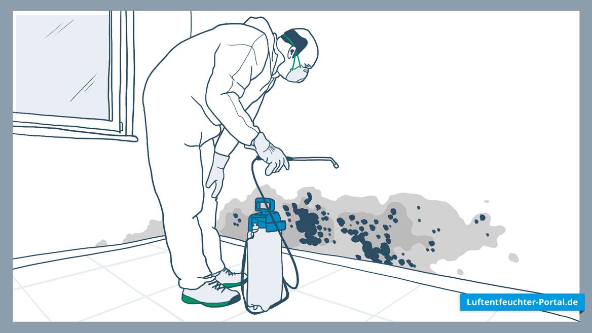 Luftentfeuchter können Schimmel vermeiden
